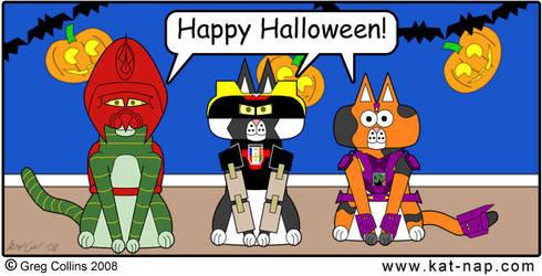 Kat-Nap Halloween Comic 2008 by cobaltkatdrone