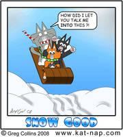 Kat Nap Comic 46 Snow Good by cobaltkatdrone