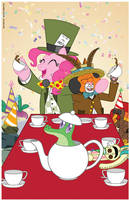 Mad Tea Party of Two by cobaltkatdrone