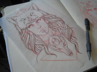 Princess Mononoke Inspired by ElfEupraxia