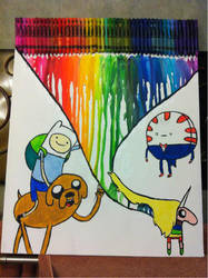 Adventure Time Drawing by ElfEupraxia