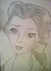 Princess Belle by ElfEupraxia