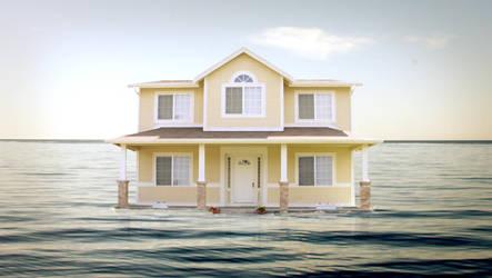 Sea House by MirrorMonkey