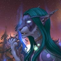 druid transformation by flowerewolf