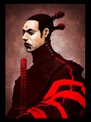 Red Samurai by torvenius
