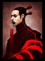 Red Samurai by torvenius