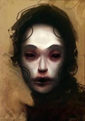 circle girl by torvenius