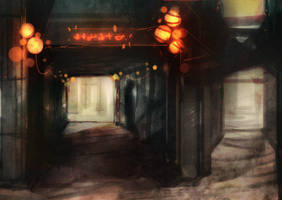 Speed paint back alley 20 min by torvenius