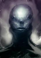 Speed paint alien blueish by torvenius