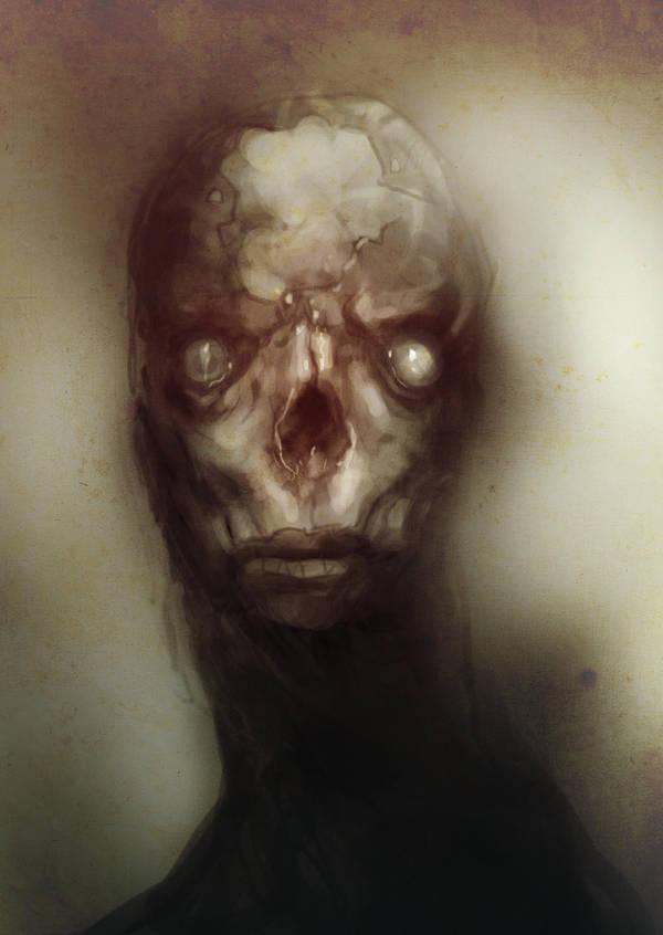 Speed paint zombie dudette by torvenius