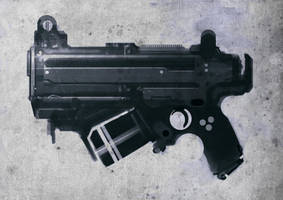 Speed painted gas SMG by torvenius