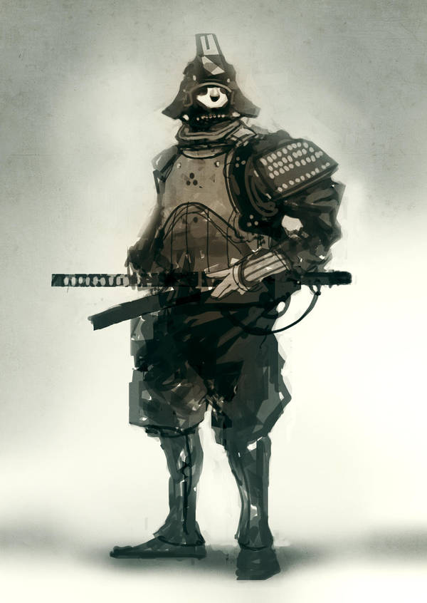 speed painted samurai 22 min by torvenius