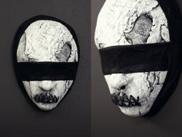 New mask - 'Blindfolded w stitches' by torvenius
