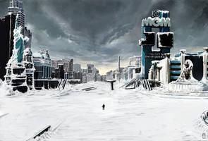 OLD environment Concept Art by torvenius