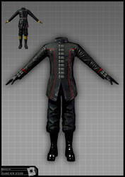 Concept Art RIDDICK AoDA - Guard design by torvenius