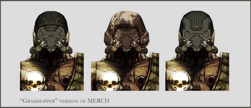 Concept Art RIDDICK AoDA - Enemy heads by torvenius