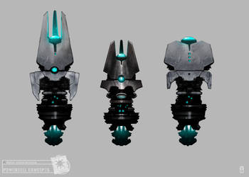 Concept Art RIDDICK AoDA - Power cells by torvenius