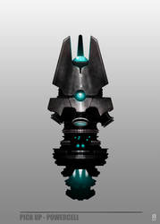 Concept Art RIDDICK AoDA - Power cell by torvenius