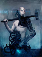Cybernetic musician - Jos from Grendel 02 by torvenius