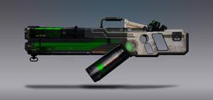 Commission Concept Art - Goo Launcher by torvenius