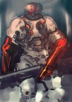 speed paint 2012 08 03 by torvenius