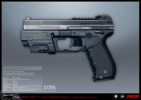 SYNDICATE concept - APP pistol by torvenius