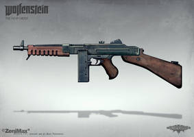 Wolfenstein: The New Order - SMG by torvenius