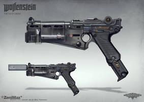 Wolfenstein: The New Order - Handgun 60 by torvenius