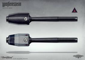Wolfenstein: The New Order - standard grenade by torvenius