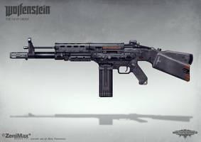 Wolfenstein: The New Order - AR 60 by torvenius