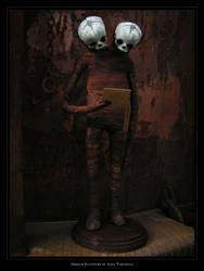 Siamese Orphan Sculpture 02 by torvenius