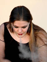 Eating Smoke by slephoto