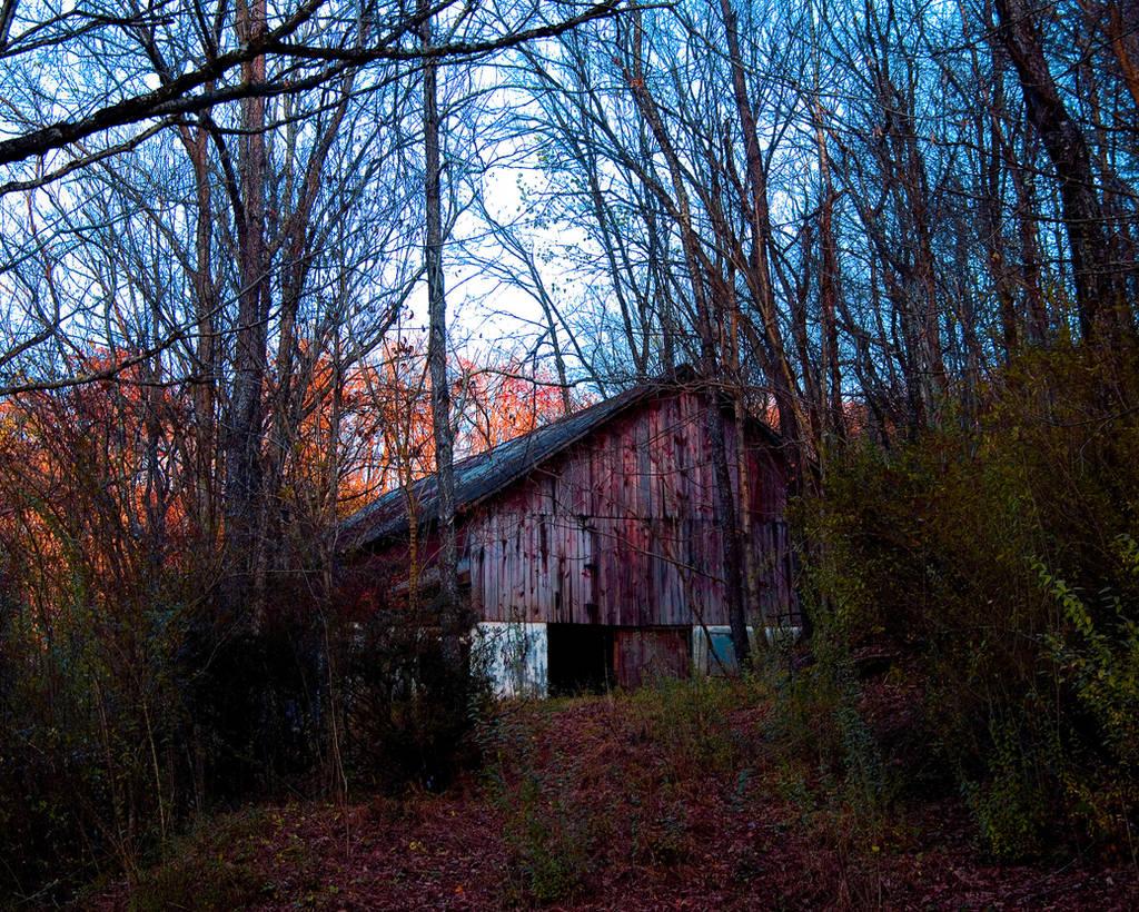 Abandoned Barn W. Va. by slephoto