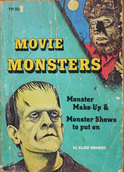 Movie Monsters book by slephoto