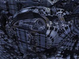 Amazing Box Race 10 - Mandelbulb 3D fractal by schizo604