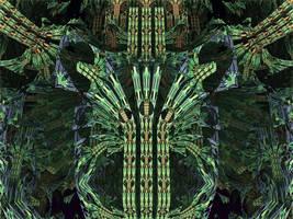 Amazing Box + addC + _SinY - Mandelbulb 3D fractal by schizo604