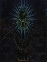 Amazing Box Platinum Bulb2 - Mandelbulb 3D fractal by schizo604