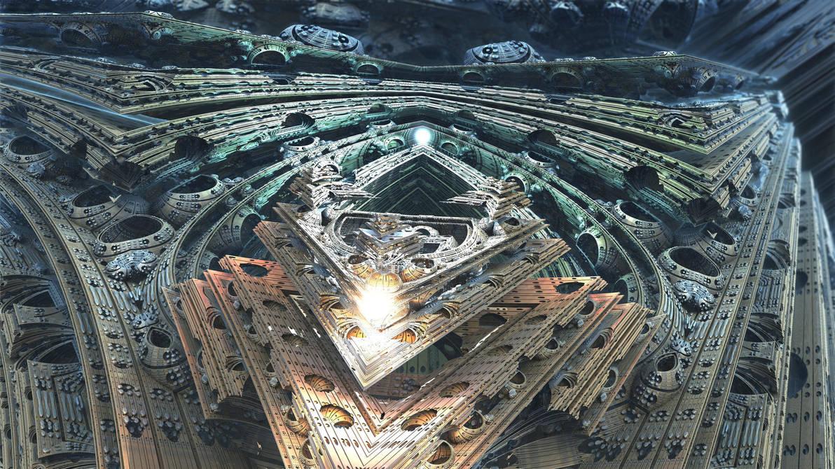Amazing 3Light II - Mandelbulb 3D fractal by schizo604