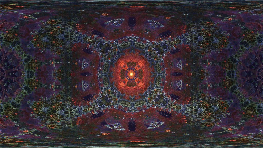 360 degree Caleidoscope Eye-Mandelbulb 3D fractal by schizo604