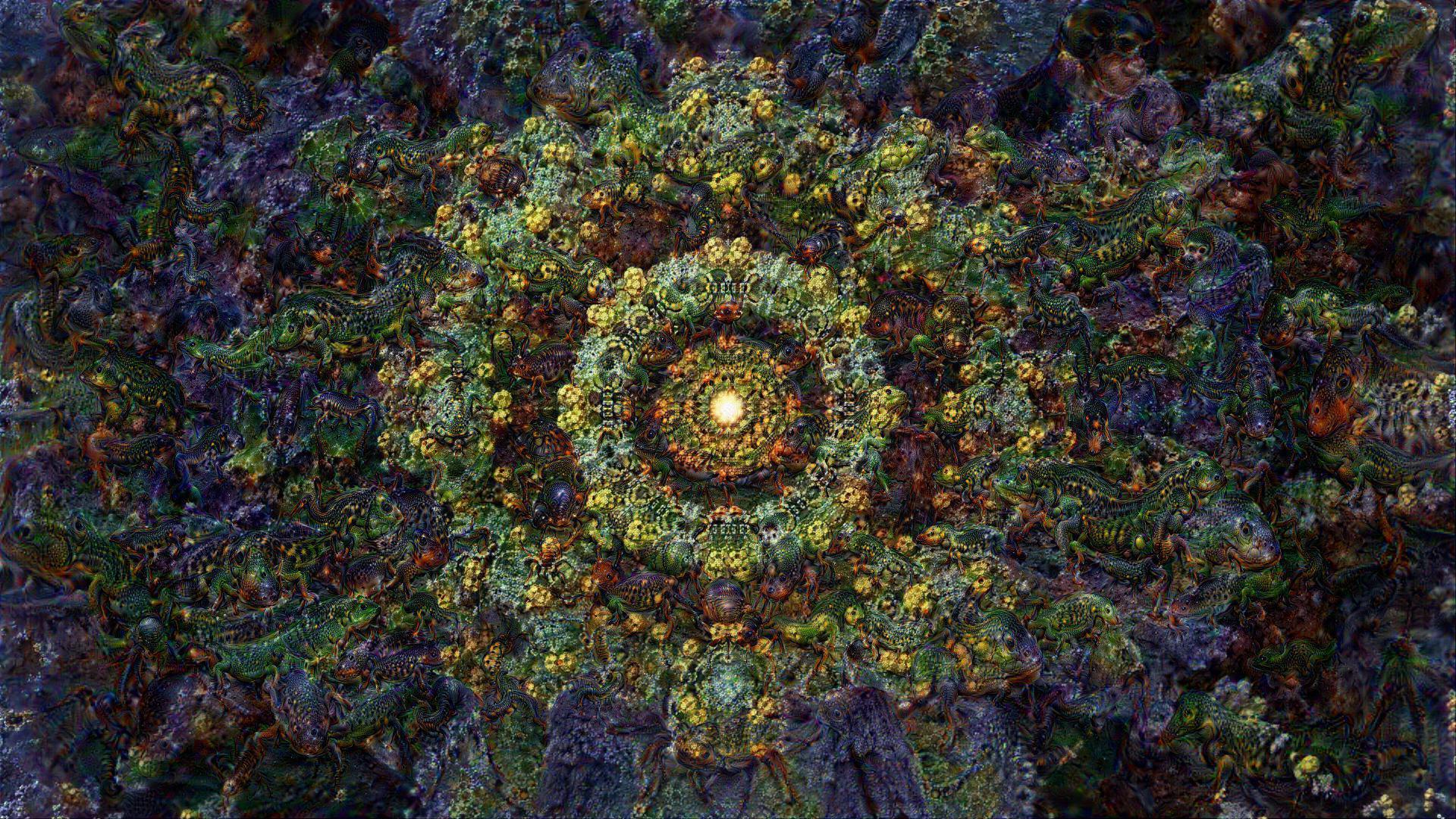 ACID EYE 360 VR - Psychedelic Deep Dream Fractal 3 by schizo604