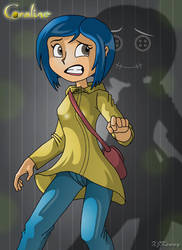Coraline by XJKenny