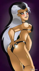 Bikini Sindel by XJKenny