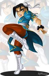 Jade Chun-Li Outfit by XJKenny