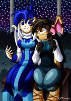 Kieri and Rhea by XJKenny