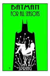 Batman For All Seasons Spring by LarryKingUndead