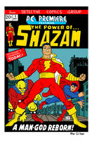The Power of Shazam by LarryKingUndead