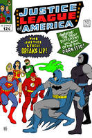 The Justice League Breaks Up by LarryKingUndead