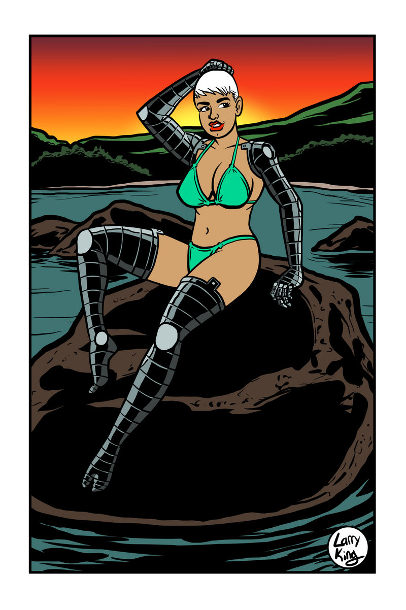 Swimsuit Special - Soledad Fortuna by LarryKingUndead