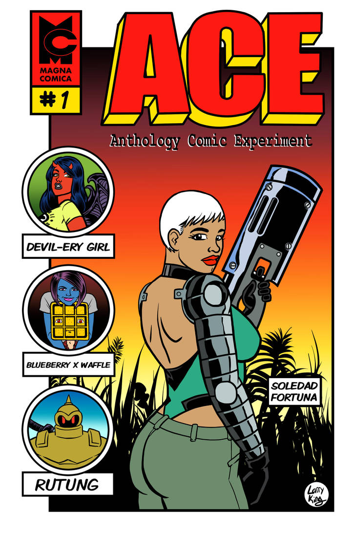 ACE - 01 - Front Cover by LarryKingUndead
