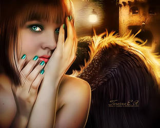 Dark angel by x-Cubbu-x